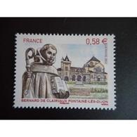 Timbre N° 4802 Neuf ** - Bernard De Clairvaux - Fontaine-lès-Dijon - Frankreich