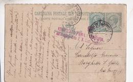 CARTOLINA POSTALE VG PER BORGHETTO SANTO SPIRITO 1918 AUTENTICA 100% - Poste & Postini