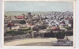 VIEW TO OLD JERUSALEM. PHALPHOT. CIRCULEE TO ARGENTINE. CIRCA 1955. ISRAEL - BLEUP - Israël