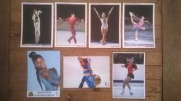 Lot De 7 Cartes Postales Patinage Artistique - Figure Skating