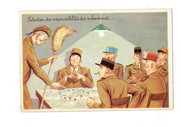 Cpm - Humour Militaria - Soldat Corvée Ménage - Extension Des Responsabilités Des Subordonnés - Porte-cigarette - Humor