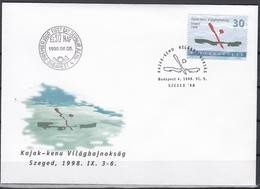 Hungary 1998 - World Canu Sports Championship - FDC 5.6.1998 - FDC