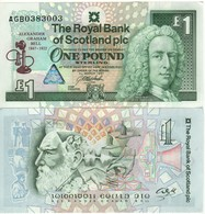 SCOTLAND   £1  Commemorative Issue A. Graham Bell (telephone)  P359 Dated  3rd March  1997   UNC - [ 3] Scotland