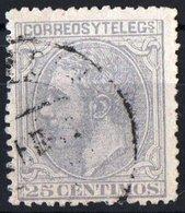 SPAGNA, SPAIN, COMMEMORATIVO, RE ALFONSO XII, 1879, FRANCOBOLLO USATO YT 187   Scott 246 - 1875-1882 Regno: Alfonso XII