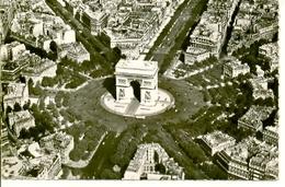 Postal Paris. La Place De L'Etoile Et L'Arc De Triomphe. Ref. 7-fra256 - Sin Clasificación