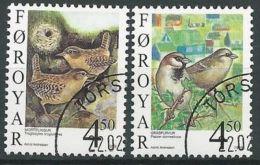 FÄRÖER 1999 Mi-Nr. 352/53 O Used - Aus Abo - Färöer Inseln