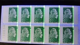 A VOIR** Carnet Sagem Marianne L'engagée De Yseult. Timbres Décalés ++ - Carnets