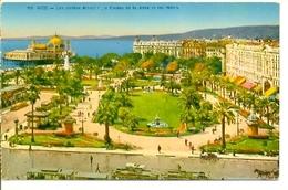 Postal Nice. Les Jardins Albert 1º. Ref. 7-fra261 - Francia