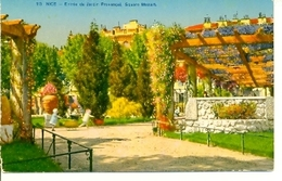 Postal Nice. Entrée Du Jardin Provençal. Ref. 7-fra263 - Francia