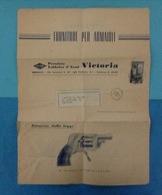 1951 BRESCIA LISTINO CATALOGO PUBBLICITARIO FORNITURE PER ARMAIOLI PREMIATA FABBRICA DI ARMI VICTORIA - Pubblicitari