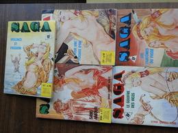 Saga. Lot De 5 BD Adultes - Bücher, Zeitschriften, Comics
