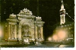 Postal Lille. Porte De Paris Et Belfroi Ilumines. Ref. 7-fra266 - Francia