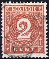 INDIE OLANDESI, NETHERLANDS INDIES, NUMERALS, 1884, FRANCOBOLLI USATI YT 18    Scott 18 - Indes Néerlandaises
