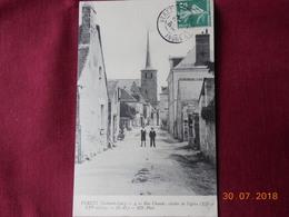 CPA - Véretz - Rue Claude - Clocher De L'Eglise (XIIè Et XVIè Siècles) - Sonstige Gemeinden