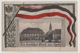 0653 Germany Eglen Souvenir With Flag - Germania