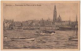 Anvers, Panorama Du Port Et De La Rade, Early 1900s Unused Postcard [21622] - Antwerpen