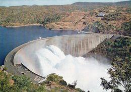 1 AK Simbabwe * Die Kariba-Talsperre In Der Kariba-Schlucht Des Sambesi An Der Grenze Von Simbabwe Und Sambia * - Zimbabwe