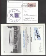 Germany Leer 1990 / Philatelic Exhibition QUADRONALE LEER / 500 Years Of Post - Esposizioni Filateliche