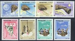 Yemen Arab Republic 535-542 Gemini 6 & 7, Neuf** Sans Charniere, Mint NH - Yemen