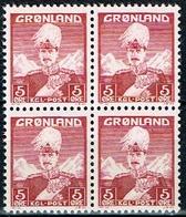 GROELANDIA, REY CHRISTIAN X, 5 ØRE - Greenland