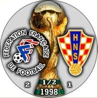 PIN FIFA WORLD CUP 1998 1/2 FINAL FRANCE Vs CROATIA - Fussball