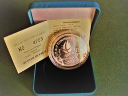 100 Francs Argent 1990 Belle Epreuve Jeux Olympiques Albertville - Conmemorativos