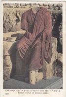 Israel, CAESAREA, ROMAN STATUE OF REDDISH MARBLE, 1959 Used Postcard [21627] - Israel