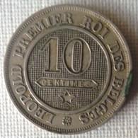 MONEDA DE 10 CENTIMOS DE BELGICA DE 1861 - 04. 10 Céntimos