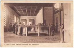 Poland, KRYNICA, Wnetrze Pawilonu Ze Zdrojami Wod Mineralnych, Mailed In The 1930s To Tel-Aviv, Postcard [21629] - Poland