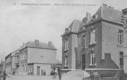 Monceau Sur- Sambre. Hôtel Ce Ville Et Ecole Des Garçons.--+scan--- - Belgique