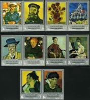 Yemen Arab Republic 650-659 Van Gogh Paintings, Neuf** Sans Charniere, Mint NH - Yemen