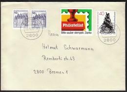 Germany Bremen 1982 / Vignette / Philatelist / Please Clean Postmark. Thank You / Bitte Sauber Stempeln. Danke - Philatelie & Münzen