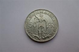 België 50 Frank 1935 Wereldtentoonstelling  FR - 1934-1945: Leopold III