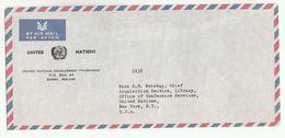 UN In MALAWI  UNDP ZOMBA  COVER To UN  USA United Nations - Malawi (1964-...)