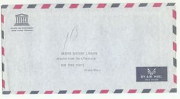 UNESCO FRANCE PARIS  COVER To UN LIBRARY USA United Nations - UNESCO