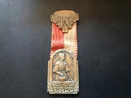 Medaille SUISSE - AUSZEICHNUNG 1947 - Kantonal Schutzenfest Beider Basel SISSACH - Professionals / Firms