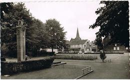 AK Leichlingen, Stadtpark Mit Ehrenmal Um 1960 - Autres