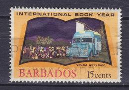 Barbados 1972 Mi. 346   15c. Internationales Jahr Des Buches Book Year Visual AIDS Van - Barbados (1966-...)