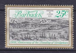 Barbados 1978 Mi. 438   25c. Gründung Von Bridgetown - Barbados (1966-...)