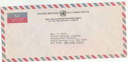 UN MASTER PLAN For KARACHI METROPOLITAN REGION Pakistan COVER  To UN NY USA  United Nations - Pakistan
