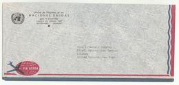 UN In URUGUAY UNDP MONTEVIDEO  COVER To UN NY USA United Nations - Uruguay