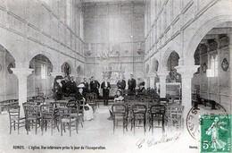 Rungis (94) - L'église - Vue Intérieure Prise Le Jour De L'Inauguration 1909 - Rungis