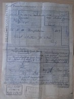 DC55.5 Facture De Fret - Bill Of Freight - Hungary  Jászladány - Vésztő - MÁV  1962 -Railway Transport - Train - Unclassified