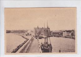 JERNBANESTATIONEN HELSINGOR. I M. CIRCA 1910's. DENMARK- BLEUP - Denemarken