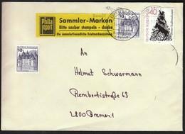 Germany Bremen 1982 / Vignette / Please Clean Postmark. Thank You / Bitte Sauber Stempeln. Danke / Rooster - Philatelie & Münzen