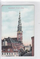 KOBENHAVN. FRRESLSER'S KIRKE. ALEX VINCENTS KUNSTFORLAG. CIRCA 1910's. DENMARK- BLEUP - Denemarken
