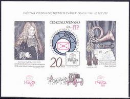 ** Tchécoslovaquie 1986 Mi 2864 - Bl.67 B (Yv BF 71a), (MNH) - Czechoslovakia