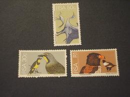 SUD AFRICA - 1974 UCCELLI 30 C. - 40 C. -1 R. NUOVO(++) - Sud Africa (1961-...)