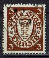 Danzig 1927 // Mi. 216 X O (026..096) - Dantzig