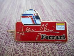 A009 -- Pin's Jean Alesi Ferrari Agip - Ferrari